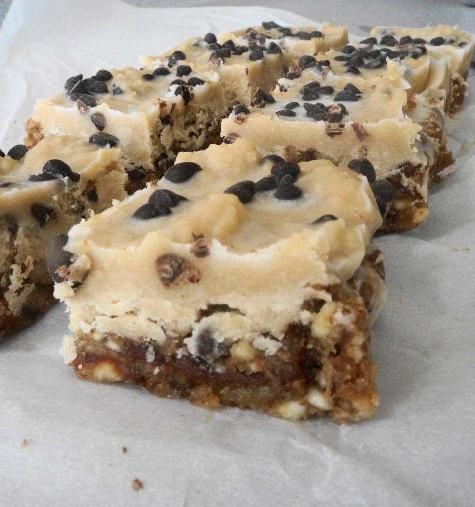 Cookie Dough Bars (V) | Busy Girl Healthy World