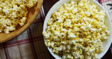 "Vegan ""Cheese"" Popcorn (V, GF) 