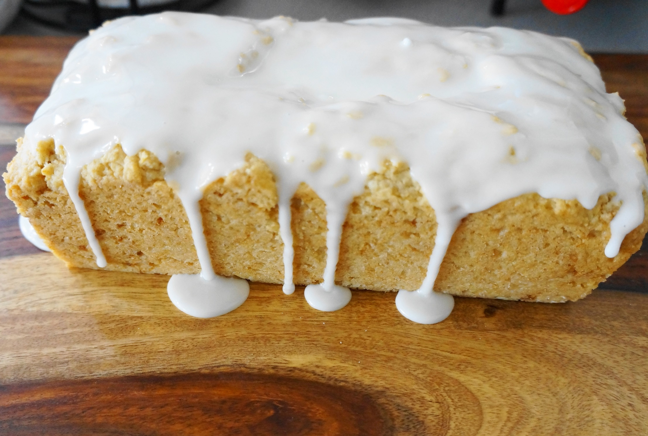 Vegan Lemon Loaf Cake (V) | Busy Girl Healthy World