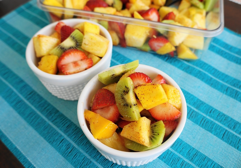 Spicy Fruit Salad (V, GF) | Busy Girl Healthy World