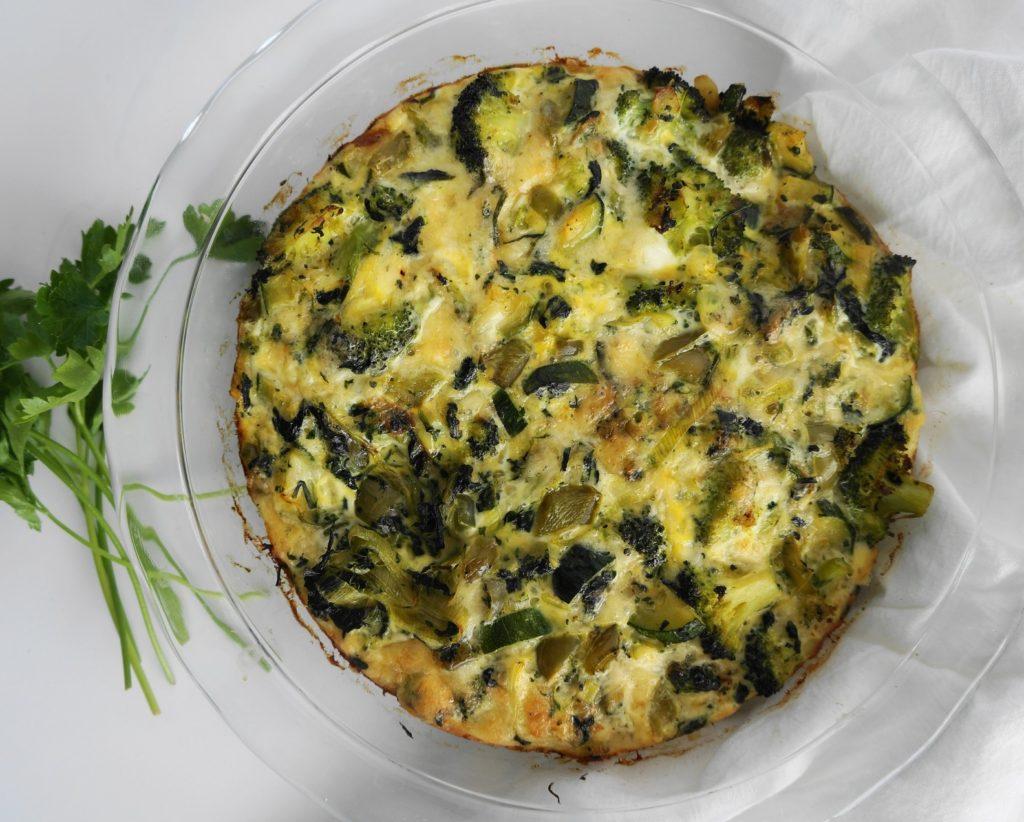 Super Green Vegetable Frittata (GF) | Busy Girl Healthy World