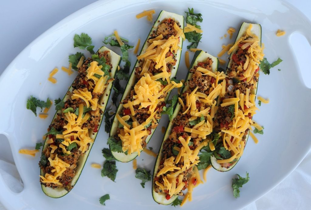 Taco Zucchini Boats (V, GF, DF) | Busy Girl Healthy World