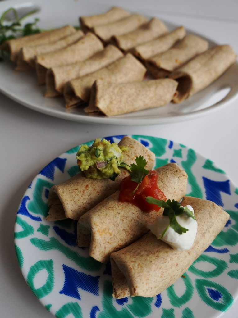 Busy Girl Healthy World | Mini Whole-Wheat Burritos