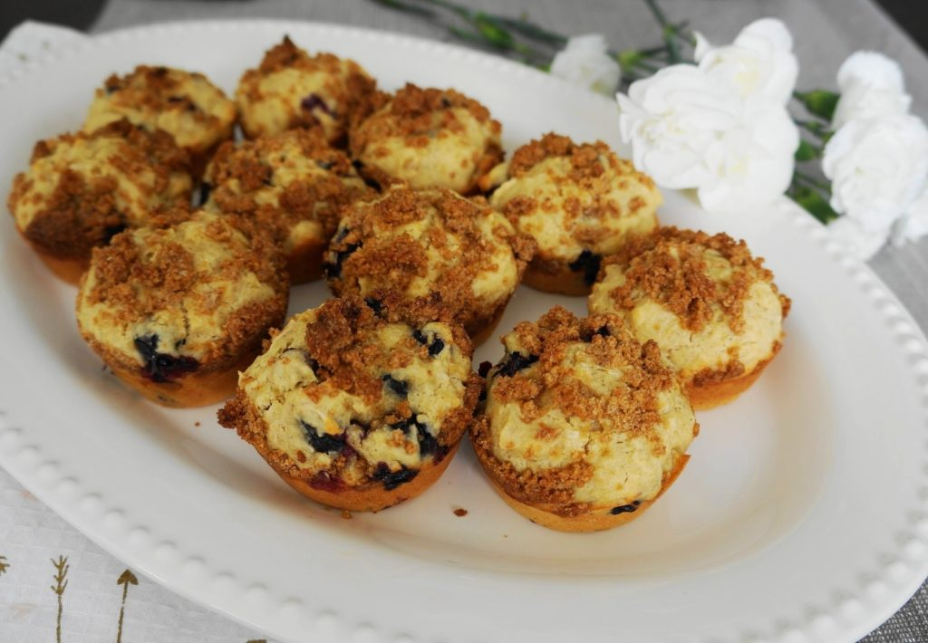 Gluten-Free Blueberry Coconut Muffins (GF) | Busy Girl Healthy World
