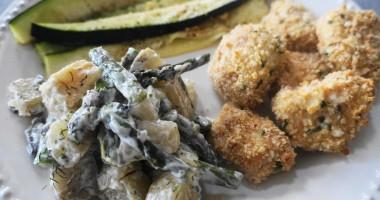 Roasted Asparagus Potato Salad | Busy Girl Healthy World