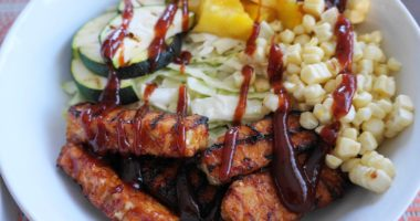 20-Minute BBQ Tempeh Bowls (V, GF) | Busy Girl Healthy World